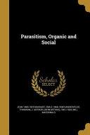 PARASITISM ORGANIC   SOCIAL