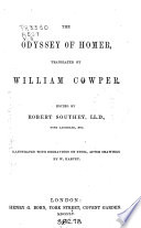 The Works of William Cowper  Translation of Homer s Odyssey