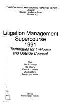 Litigation Management Supercourse