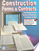 Construction Forms   Contracts