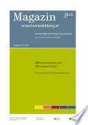 Bildungszugänge und Bildungsaufstiege. Mechanismen und Rahmenbedingungen. Fokus Erwachsenenbildung
