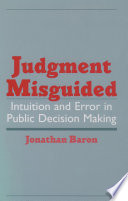 Judgment Misguided