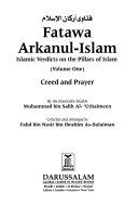 Fatawa Arkanul Islam  Creed and prayer