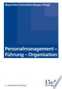 Personalmanagement - Führung - Organisation