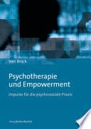 Psychotherapie und Empowerment