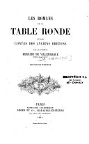 download ebook les romans de la table ronde et les contes des anciens bretons pdf epub