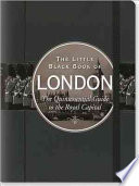 The Little Black Book of London  2012 Edition