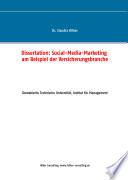 Social Media Marketing am Beispiel der Versicherungsbranche