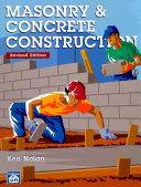 Masonry   Concrete Construction