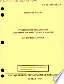 Aviation Unit and Aviation Intermediate Maintenance Manual