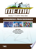 Proceedings of the TMS Middle East   Mediterranean Materials Congress on Energy and Infrastructure Systems  MEMA 2015