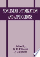 Nonlinear Optimization And Applications book