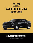 Chevrolet Camaro 2018 2ss Composition Notebook College Ruled 8 5 X 11 In