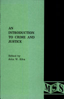 An Introduction to Crime and Justice