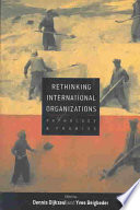 Rethinking International Organizations