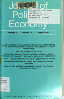 The Journal of Political Economy