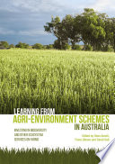 Learning from agri environment schemes in Australia