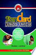 Standard Mathematics For Upper Primary And Junior Secondary School