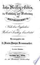 John Wesley's Leben