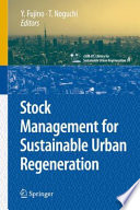 Stock Management For Sustainable Urban Regeneration book