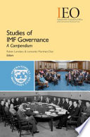 Studies of IMF Governance