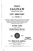 Saginaw City Directories