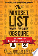 Mindset List of the Obscure