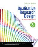 Qualitative Research Design An Interactive Approach