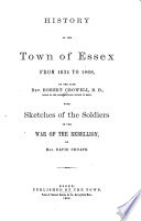 History of the Town of Essex