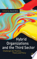 Hybrid Organizations and the Third Sector