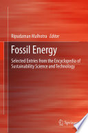 Fossil Energy book