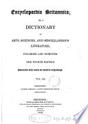 Encyclop  dia Britannica  or  A dictionary of arts and sciences  compiled by a society of gentlemen in Scotland  ed  by W  Smellie   Suppl  to the 3rd  ed   by G  Gleig