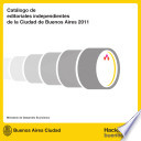 Editoriales independientes de la Ciudad de Buenos Aires   Cat  logo 2011