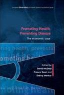 Promoting Health  Preventing Disease