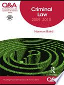 Q A Criminal Law 2009 2010