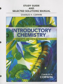 Study Guide and Selected Solutions Manual for Introductory Chemistry