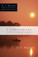 1 Corinthians : walks you through 1 corinthians in this...