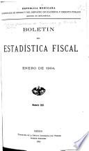 Bolet  n de estad  stica fiscal
