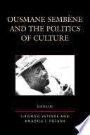 Ousmane Sembene and the Politics of Culture