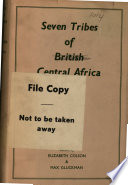 Seven Tribes of British Central Africa