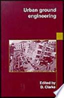 Urban Ground Engineering