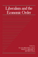 Liberalism and the Economic Order