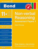 Bond Assessment Papers Non verbal Reasoning  10 11  Years