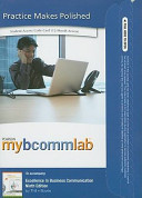 Excellence in Business Communication Mybcommlab Student Access Code