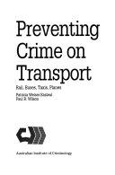Preventing Crime on Transport