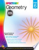 Geometry Workbook  Grade 6