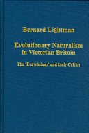 Evolutionary Naturalism in Victorian Britain