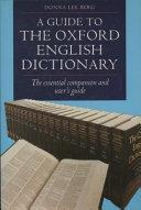 The Oxford English Dictionary [Pdf/ePub] eBook