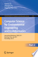 Computer Science For Environmental Engineering And Ecoinformatics