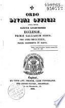 Ordo des dioc  ses de Lyon et Saint Etienne